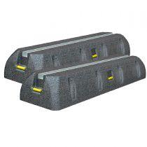 Aufstellbalken/Dämpfungssockel für Klimaanlagen inkl. Schrauben