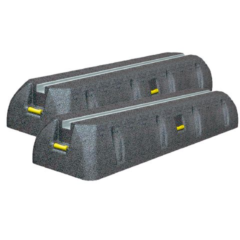 Aufstellbalken/Dämpfungssockel für Aussengeräte inkl. Schrauben