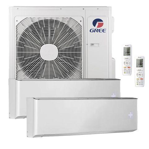 GREE Multisplit Inverter SET 2x 2.6 kW Wandgeräte (Raumgrösse 110m3 pro Innengerät)