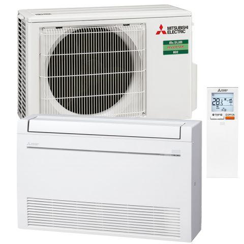 Mitsubishi Electric Truhengerät Set 3.2 kW MFZ-KT25VE/SUZ-M25VA Raumgrösse 110m3)